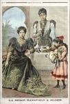 Razafindrahety, Marie-Louise, Alger, Ranavalona III